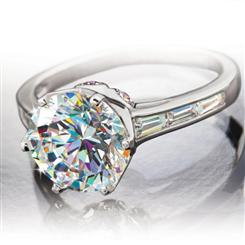 Diamond<em>Aura</em>&reg; Ziara Ring