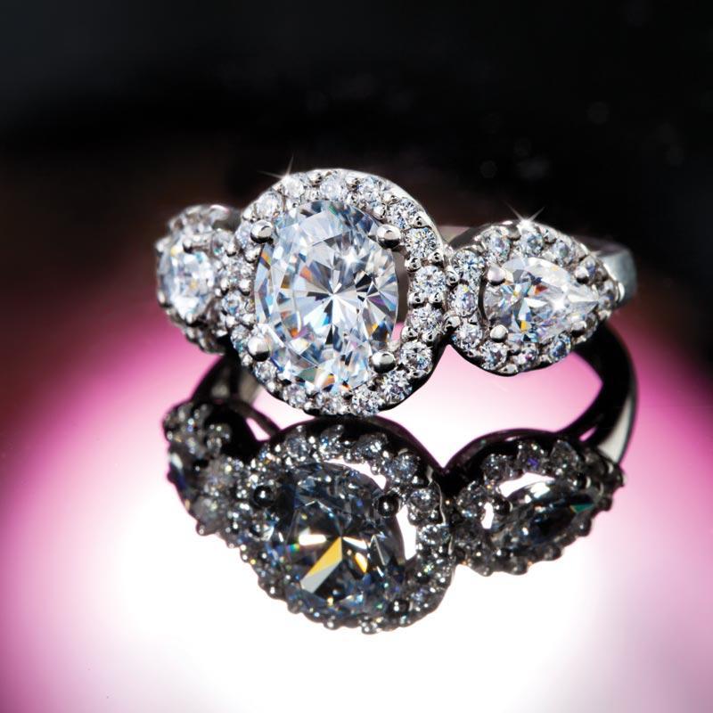 sempre diamondaura 174 ring w6252 stauer