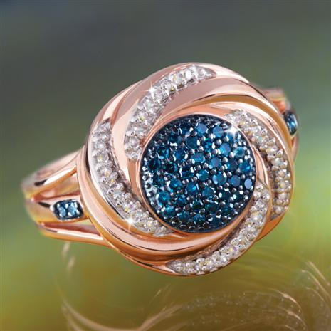 Blue Nova Diamond Ring