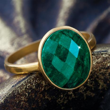 Regalo Emerald Ring