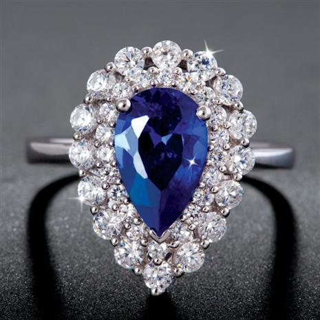 Satias Scienza® Lab-Created Sapphire Ring