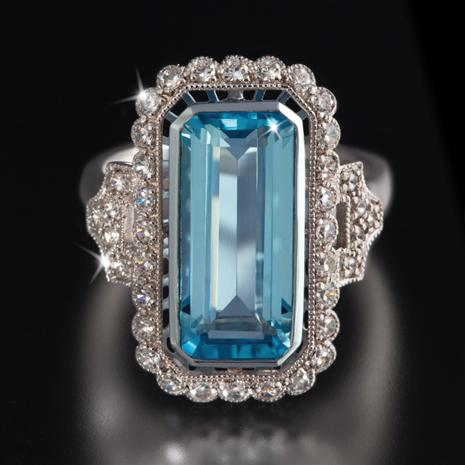 Pura Blue Topaz Ring