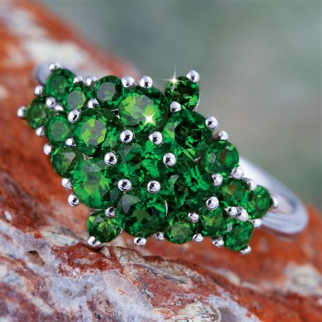 Vesna Chrome Diopside Ring