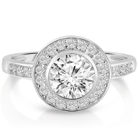 Sun and Stars DiamondAura Ring
