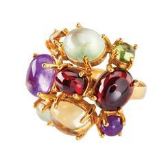 Jubilee Gemstone Ring