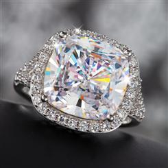 Diamond<em>Aura</em>&reg; Infinity Ring