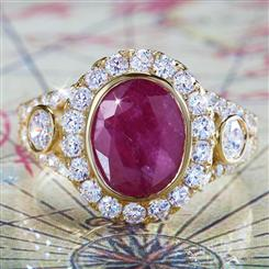 Luxure Ruby Ring
