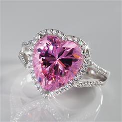 Pure Heart Diamond<em>Aura</em>&reg; Ring