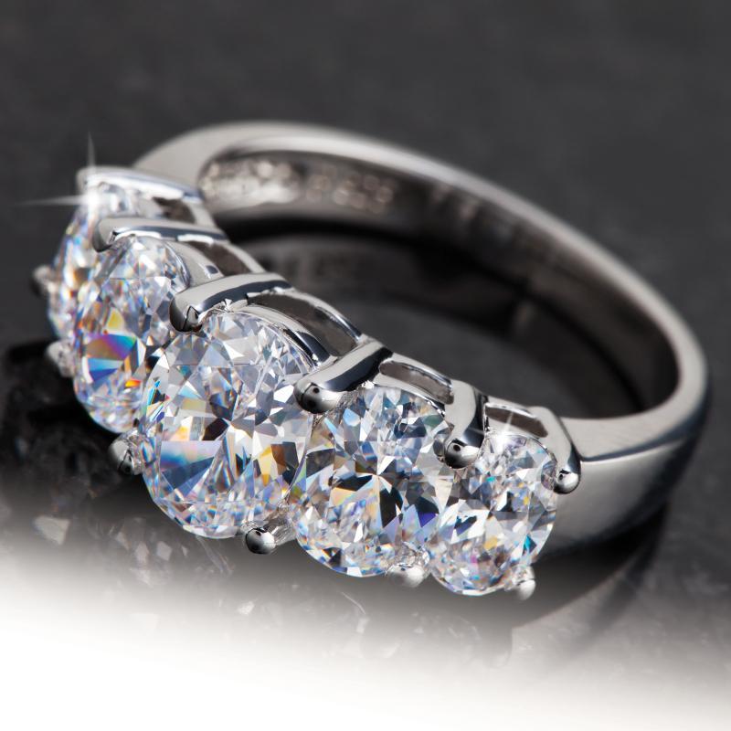 diamondaura 174 quinto 5 ring w6971 stauer
