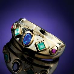Trifecta Gemstone Ring