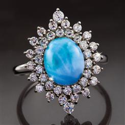 Larimar Rarity Ring