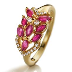 Gaza Mozambique Ruby Ring