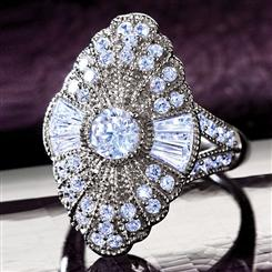 Ingrid Bergman&#8482; Stockholm Diamond<em>Aura</em>&reg; Ring