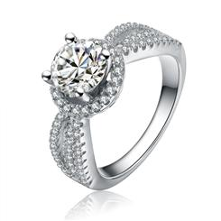 Diamond<em>Aura</em>&reg; &nbsp;Love at First Sight Ring
