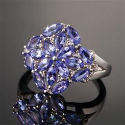Heart of Africa Tanzanite Ring