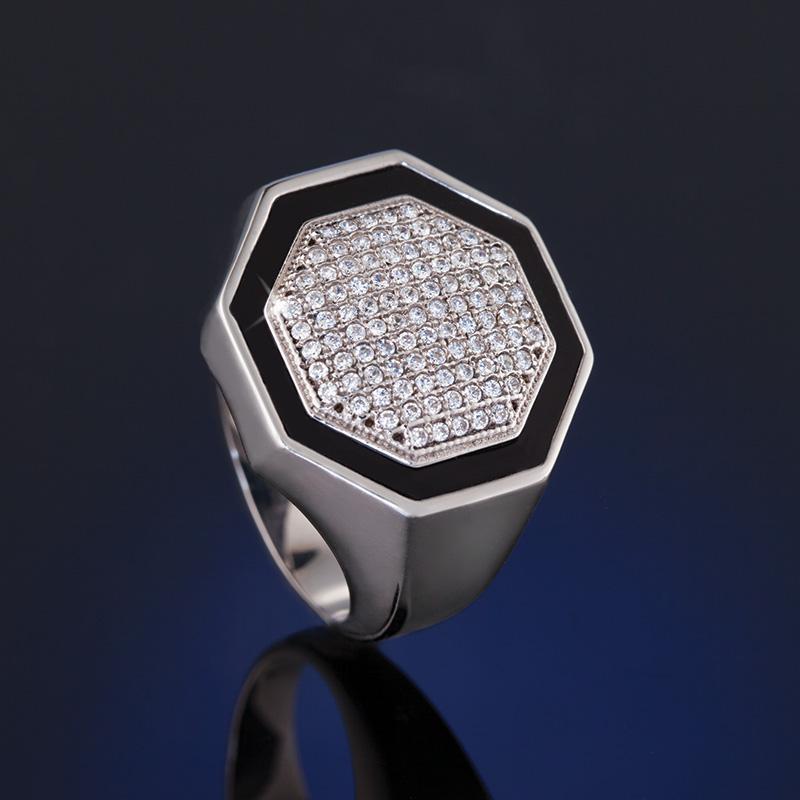 Stauer Jewelry Rings >> Octagon Ring w7462 | Stauer.com
