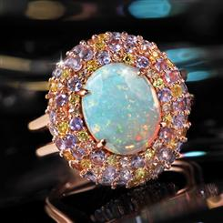 Sunkissed Opal Ring