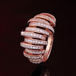 Curlique Cage Ring