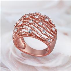 Blushing Rose Collection Ring