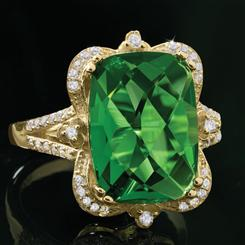 Victoria Helenite Ring (8 1/5 ctw)