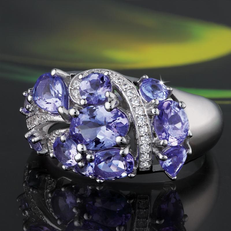 Tanzanite Marilyn Ring (1-1/2 ctw)