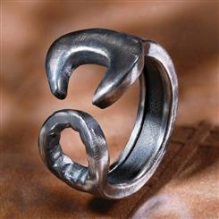 Handyman Sterling Silver Ring