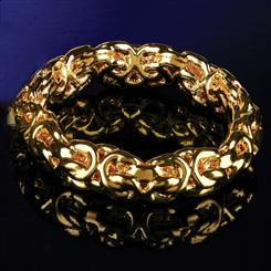 Cerchio Bizantina Ring (14K Gold)