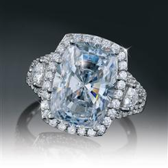 Platinum-Layered DiamondAura Refinement Ring