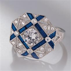 Art Deco Resurgence Ring