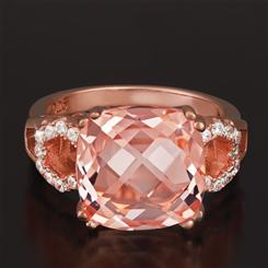 Pamirite Rose Ring