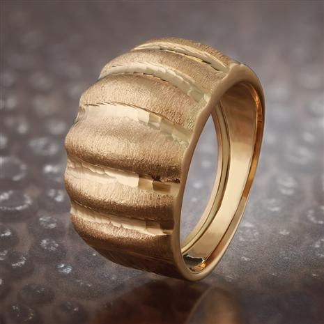 14K Gold Italia Oro Voga Ring