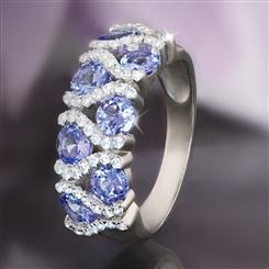 Tanzanite Hugs Ring