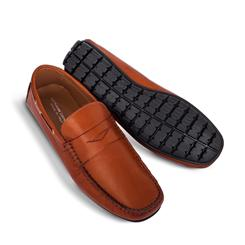 Amalfi Driving Shoes Penny Loafer - Brown